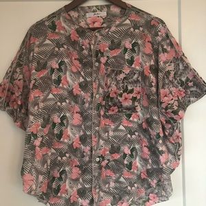 Julien David Silk and Cotton Top - NEW!